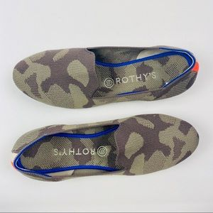 Rothy's | RARE Mink Camo 'The Loafer' Shoes